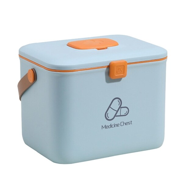 Portable Household Large-Capacity Mmedicine Storage Box First-Aid Medical Kit Drug Storage Box