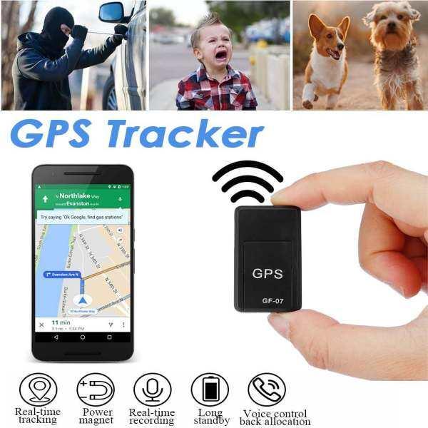 Mini GPS Tracker, Xe GPS Định Vị Thiết Bị Theo Dõi Ghi Âm Chống Mất Chống Trộm Thông Minh Định Vị Máy Ghi Âm Từ Tính Mạnh Mẽ