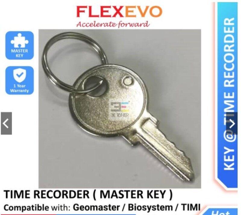 Time Recorder Key / Punch Card Machine Universal Master Key Kunci for Geomaster Aibao MOA Timi ITbox Okyo UMei Wemax