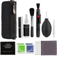 Bộ dụng cụ vệ sinh ống kính máy ảnh DSLR, gồm bình xịt + bút cọ + quạt thổi – INTL