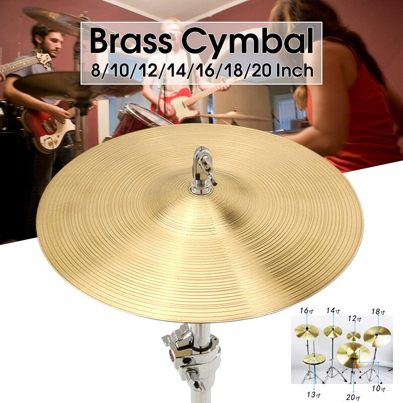 Bộ Trống Chũm Chọe Bằng Đồng Chuyên Nghiệp 8/10/12/14/16/18/20 Inch Brass Cymbal Drum Phụ Tùng & Phụ Kiện Bằng Đồng Thau