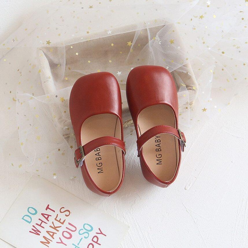 2020 Mới Biết Đi Mary Jane Giày Hoàn Hảo Suqare Toe Nữ Đi Học Giày Gót Thấp Bữa Tiệc Đêm Da Màu Trơn Giày Nữ D06151 giá rẻ