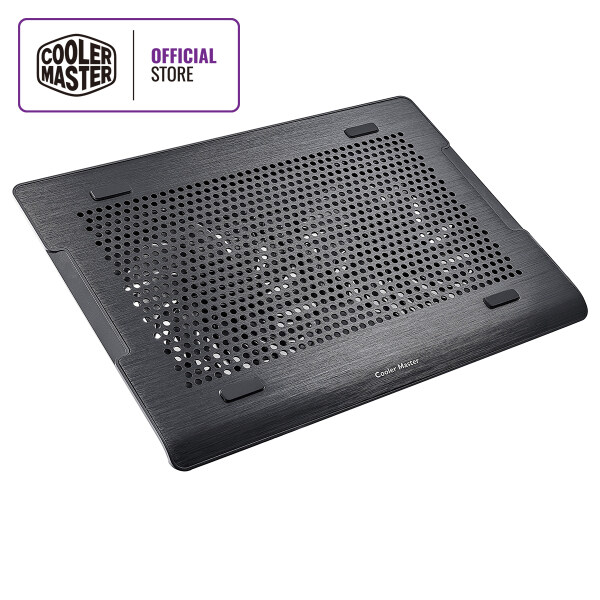 Cooler Master Notepal A200 Notebook Cooler, Slim & Lightweight, Dual 140mm Fans, Hairline Aluminum Surface, Anti-slip Rubber Padding, Supports to 16 Notebooks Malaysia