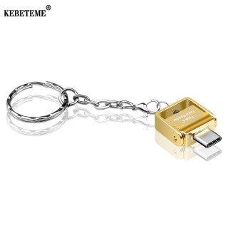KEBETEME Đầu Đọc Thẻ, Đầu Đọc Thẻ OTG USB 3.0 Type C USB C Dành Cho Samsung Đầu Đọc Thẻ Nhớ Mini Cầm Tay thumbnail