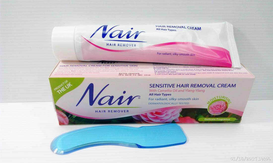 Nair Sensitive Hair Removal Cream 80ml Lazada