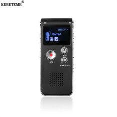 Máy Ghi Âm Kebeteme 8GB Mini Chuyên Nghiệp Thu Âm Thanh Stereo Cho Kinh Doanh Tích Hợp Micro