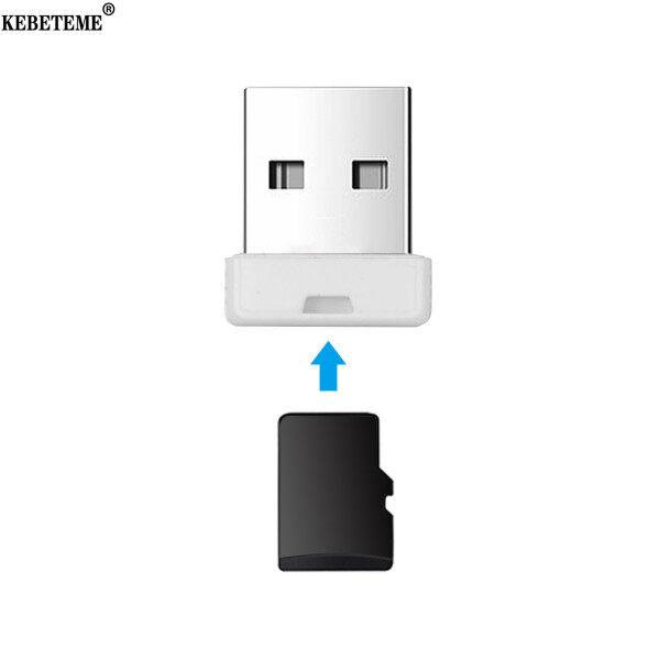 Bảng giá KEBETEME Đầu Đọc Thẻ Mini Siêu Tốc Độ USB 2.0 Micro SD/SDXC Đầu Đọc Thẻ TF Cạc Mạng Reader Đối Với Máy Tính Phong Vũ