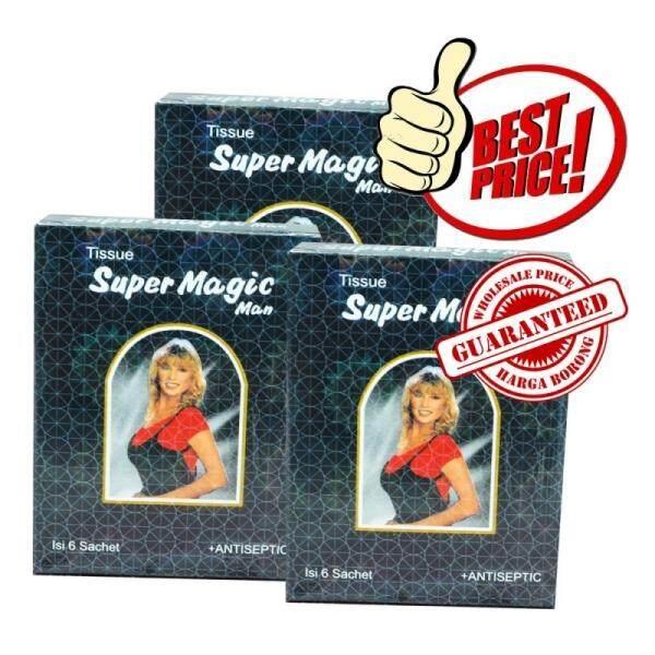 (original) Magic Delay Tisu 3 Box 18pcs By Team Shop.