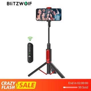 BlitzWolf BW-BS10 Ảnh Tự Sướng Thanh Từ Xa Bluetooth Có Thể Sạc Lại Từ Xa Tất Cả Trong Một Thiết Kế Xách Tay Với Ổn Định Mạnh Mẽ Giá Đỡ Ba Chân Giá Đỡ thumbnail