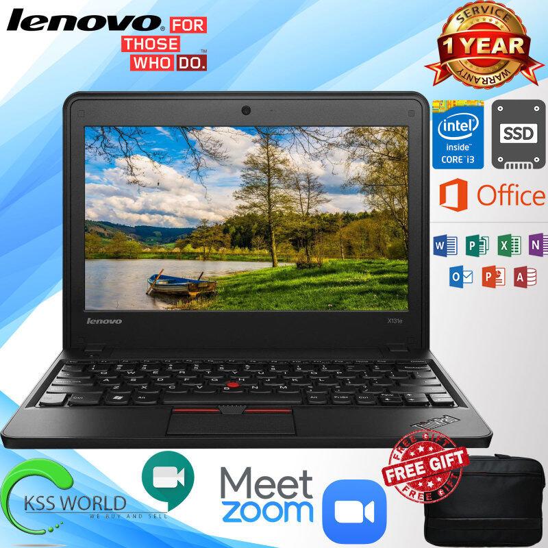 Lenovo ThinkPad X131e 3368 - 11.6 - Core i3- Windows 10 64-bit - 4 GB RAM - 500 GB (Optional) Malaysia