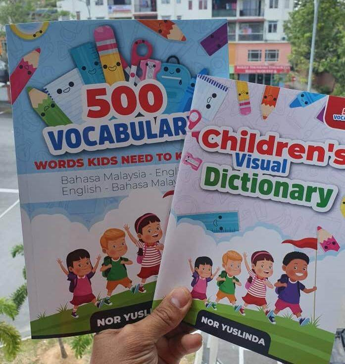 500 VOCABULARY WORDS KIDS NEED TO KNOW (WITH A FREE GIFT) - Suitable for  Standard 1-6 Primary School Malaysia