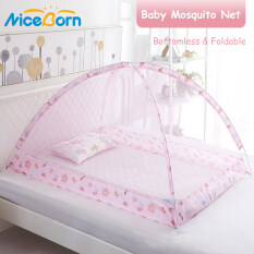 NiceBorn Children mùng chụp tự bung Net Pop-Up Bottomless Tent for Beds Anti mùng chụp tự bung Bites Folding Design without Installation for Baby Toddlers Kids