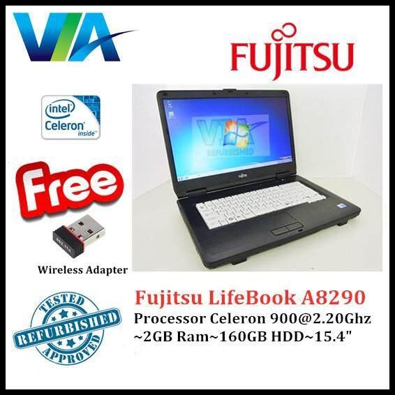Refurb Fujitsu LifeBook A8290~Celeron~2Gb Ram~160Gb Hdd~15.4~Win7 Malaysia