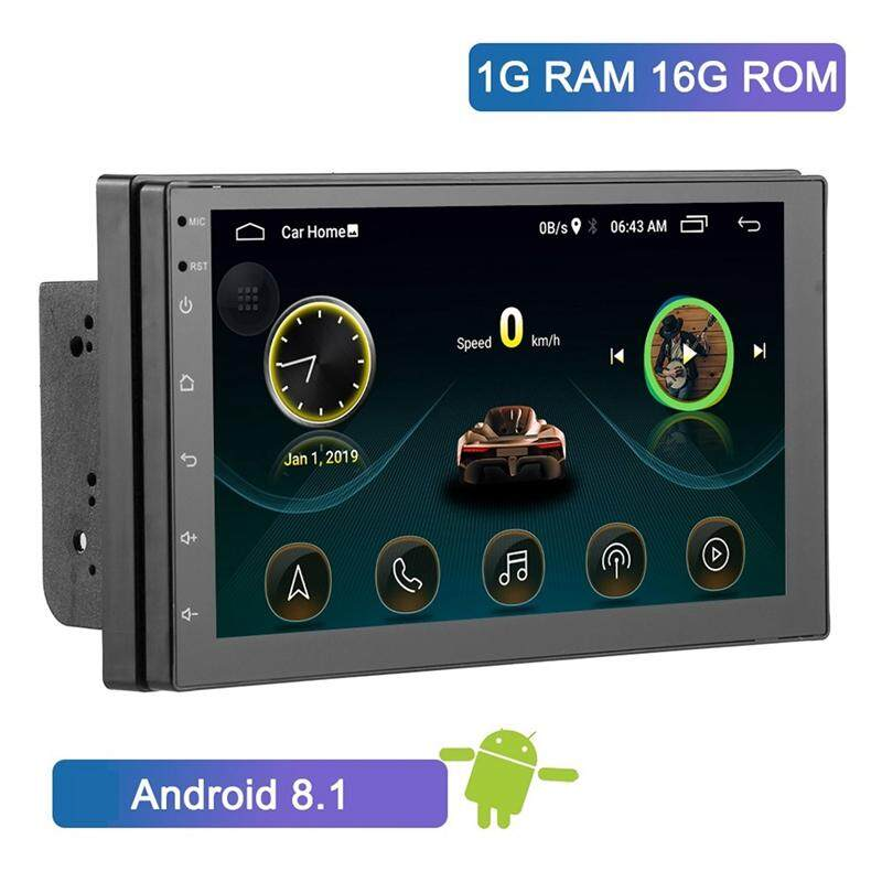 "Universal Android Bluetooth Car Stereo Radio 2 DIN 7/"" GPS MP5 Player Rear Camera"