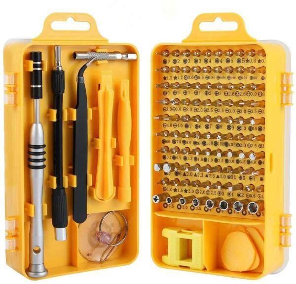 KIPRUN Screwdriver Set,115 in 1 Computer Repair Kit Electronic Tool kit Mini Precision Screwdriver Set with Case for Phone,Laptop,Jewelers