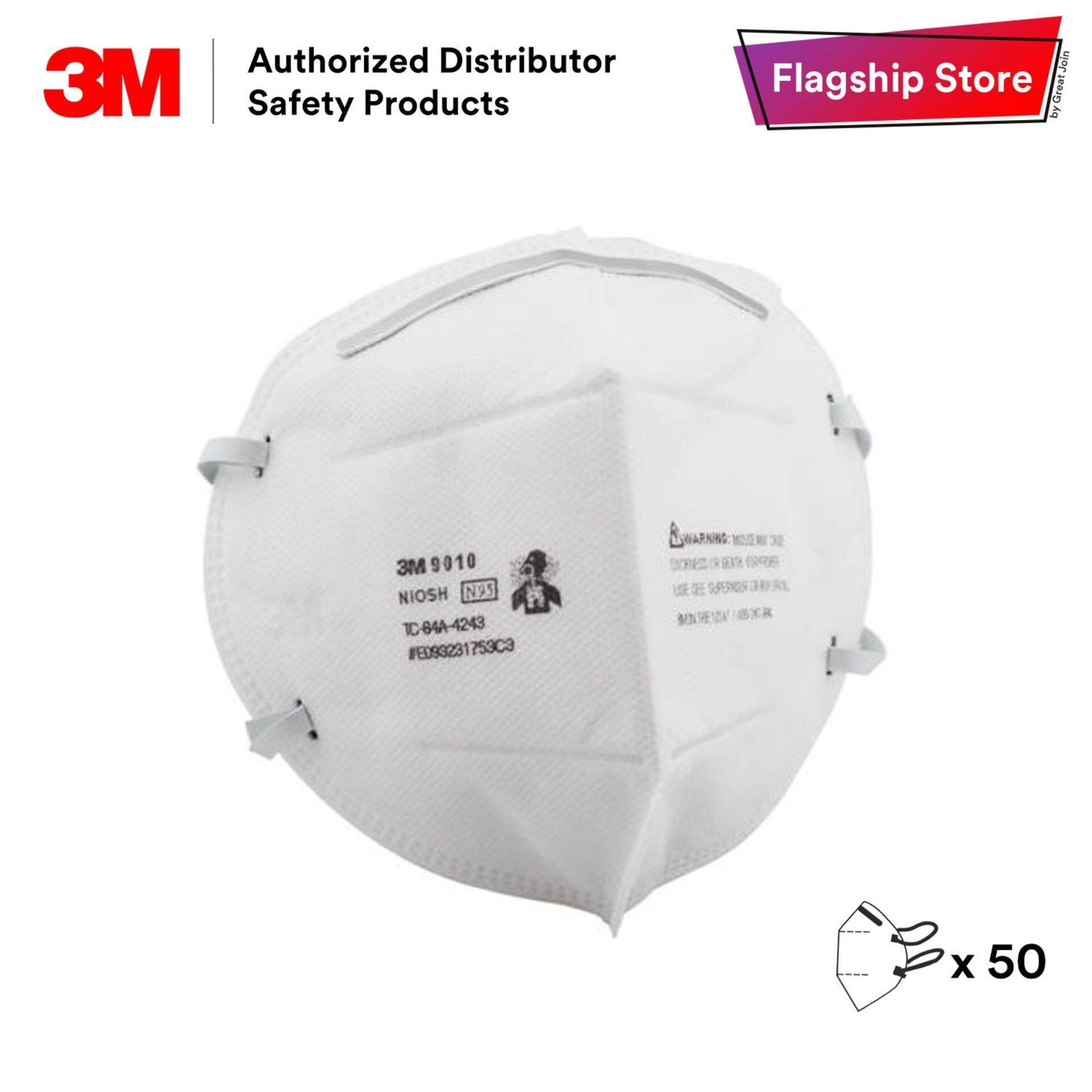 Prevention Approved Respirator Mask Disposable Dust box 3m Pcs Flu 2 amp; Pm Niosh 5 N95 Particulate 9010 Haze 50