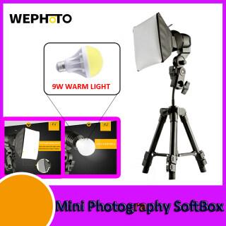 Xách Tay Bàn Nhỏ Softbox Chụp Ảnh Kit LED Ảnh Tự Sướng Đèn Chiếu Sáng Phụ Với Máy Tính Để Bàn Đèn LED Ánh Sáng Phụ Đèn Chiếu Sáng Phụ + Đèn Có Thể Điều Chỉnh Đứng Tripod + Mini Softbox Cho Chụp Ảnh Xưởng Chụp Ảnh Quay Phim thumbnail