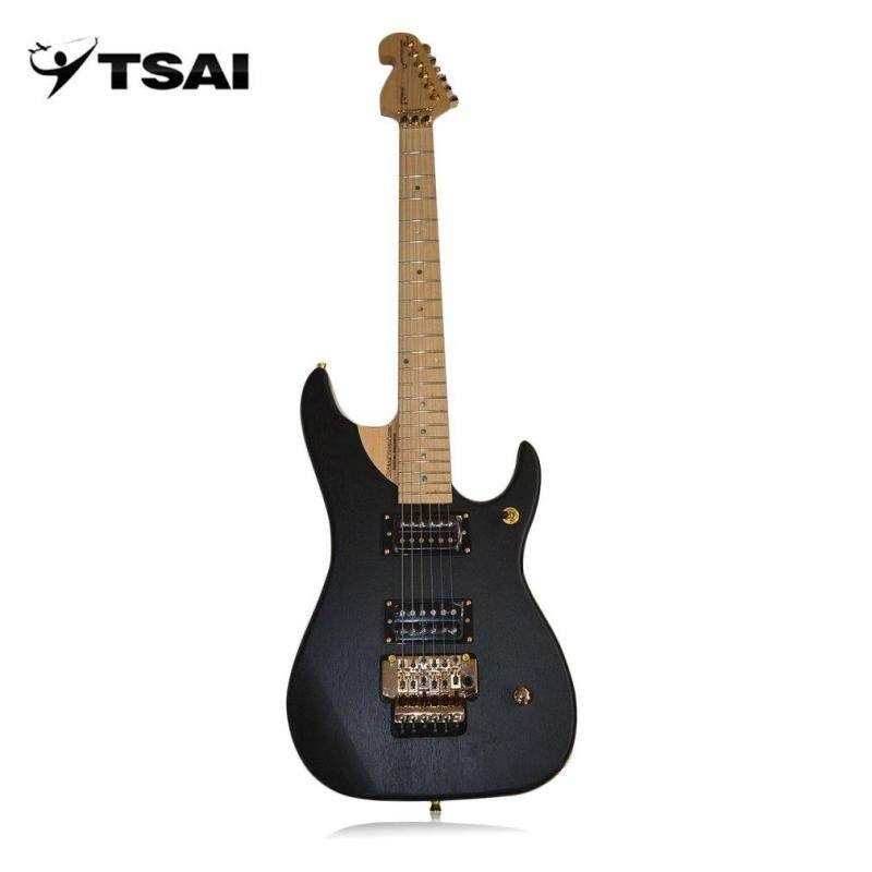Promotion SY-F-005 Electric Guitar Alder Wood 22 Frets Double Pickups Musical Instruments Malaysia