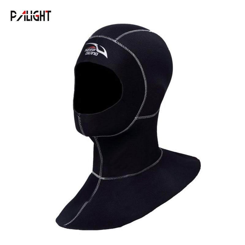 PAlight 3MM Neoprene Lặn biển Hood với Vai Lặn Mũ Trùm Đầu - 5