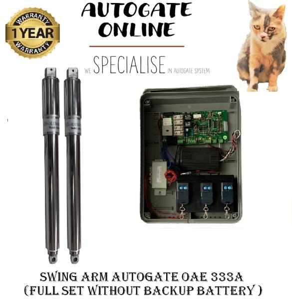 SWING ARM AUTOGATE OAE 333Au000b (FULL SET WITHOUT BACKUP BATTERY )-AUTOGATE ONLINE