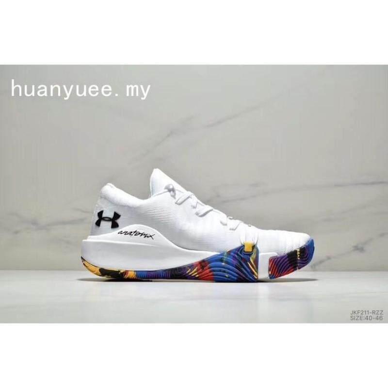 Under Armour UA Curry5 Nyaman Pria Olahraga Runner Jogger Sepatu Kasual