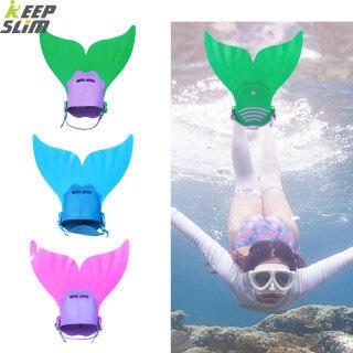 Keep & Slim Chân Vịt Tập Bơi Cho Trẻ Em, Chân Chèo Bơi Vây Nàng Tiên Cá Đuôi Chân Lặn Dành Cho Trẻ Em Tập Thể Thao Dưới Nước thumbnail