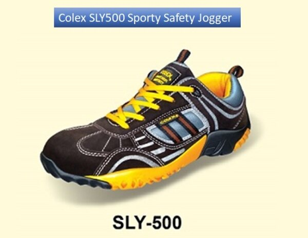 COLEX SLY500 SPORTY SAFETY SHOES (SIZE UK4-UK12)