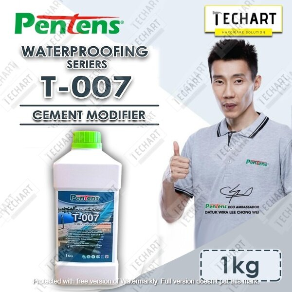 TECHART [Ready Stock] [Fast Delivery] 1KG PENTENS WATERPROOFING PRIMER T-007 CEMENT MODIFIER