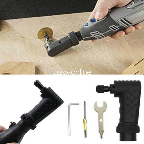 Right Angle Converter Rotary Tool For Original Dremel 4000 3000 275 Grinder Accessories Kit