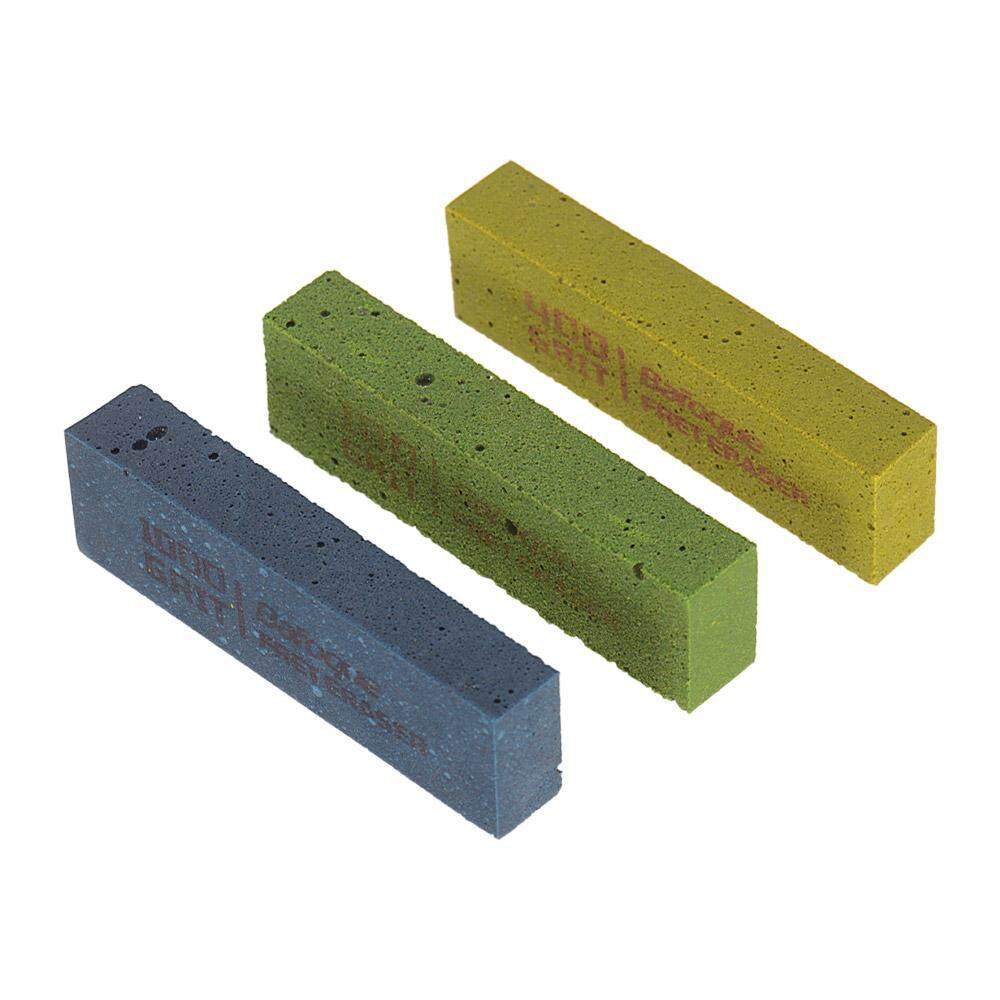 Guitar Fret Polishing Erasers Abraisive Rubber blocks for Polishing Fret Wire 180 Grit & 400 Grit
