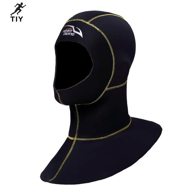 Deal tại Lazada cho 3 Mm Neoprene Lặn Biển Hood Với Vai Đồ Bơi Giữ Nhiệt Hood Lặn Mũ Trùm Đầu