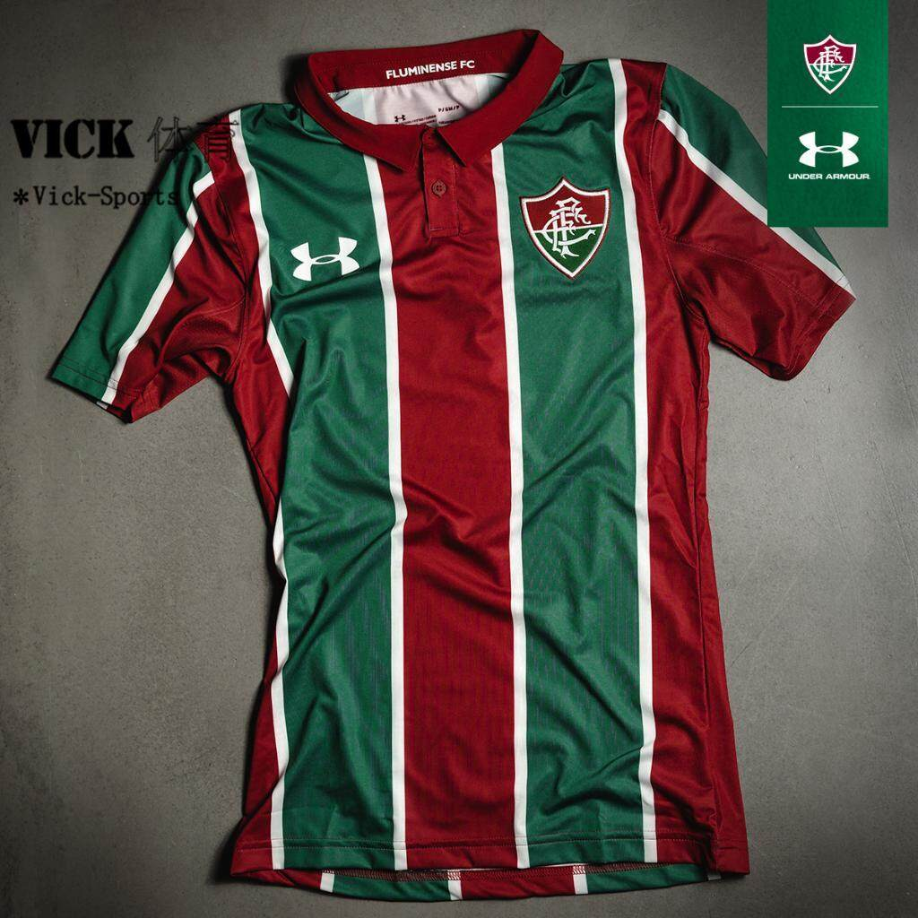 1920 Under Armour Thailand Fluminense Home Soccer Shirts