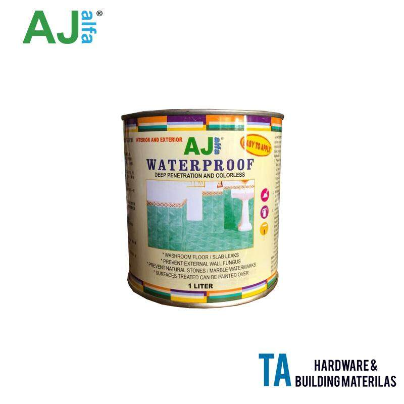 AJ alfa WATERPROOF deep penetration and colorless 1 LITTER