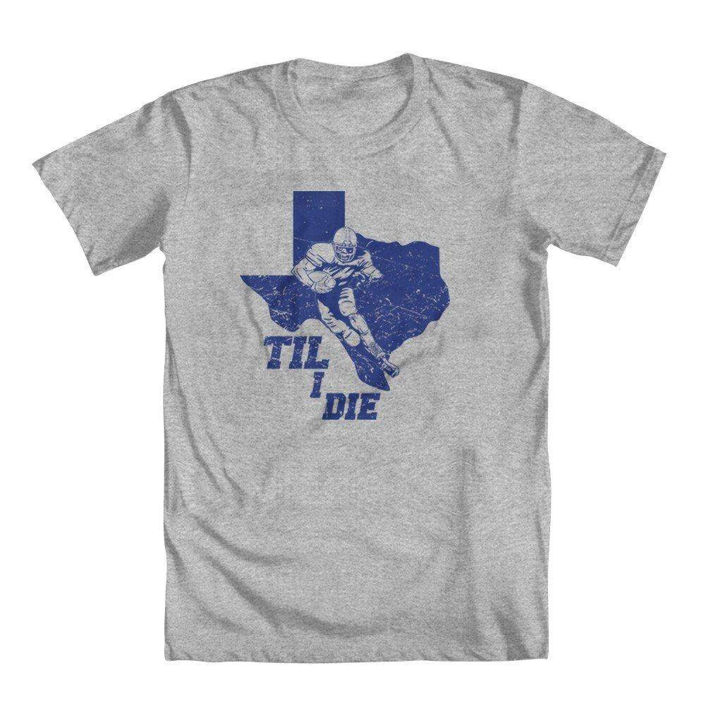"Texas Football Kipas Super Texas Sampai Aku Mati Orang ""T-shirt"