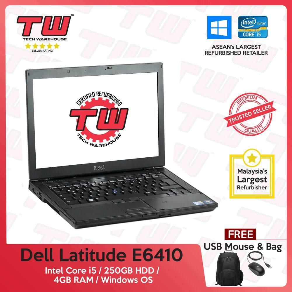 Dell Latitude E6410 Core i5 / 4GB RAM / 250GB HDD / Windows 7 Laptop / 3  Month Warranty (Factory Refurbished)
