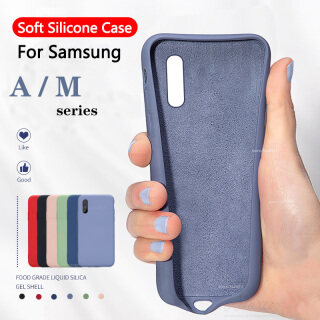 Ốp Điện Thoại Silicon Lỏng Mềm, Ốp Bảo Vệ Cho Samsung Galaxy A10S A20S A30S A50S, Dùng Cho Điện Thoại Samsung Galaxy M10 M20 M30 A50 S Couqe thumbnail