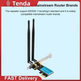 Thẻ WiFi Không Dây PCI-E 1200Mbps, Bộ Điều Hợp Mạng Băng Tần Kép IEEE 802.11ac 2.4G 5GHz Dành Cho Máy Tính Để Bàn thumbnail