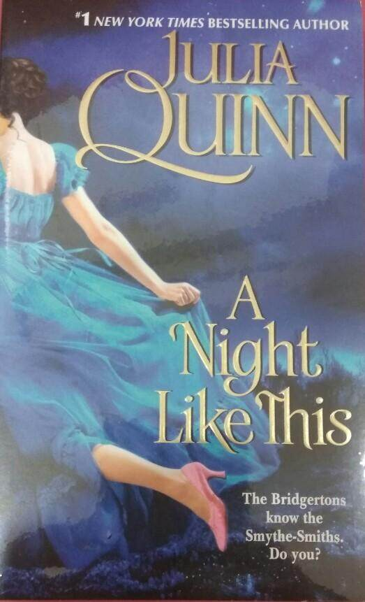 A Night Like This Julia Quinn Historical Romance Novel By Little Red Riding Book.