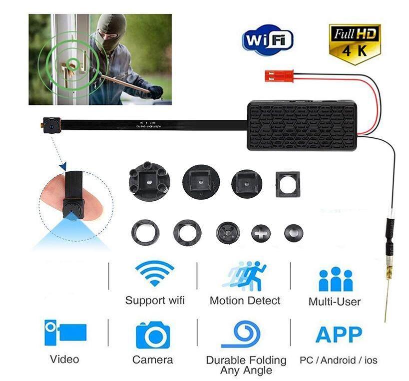 Mini HD Wireless WIFI IP Camera Hidden DIY Module DV DVR Nanny Micro Cam