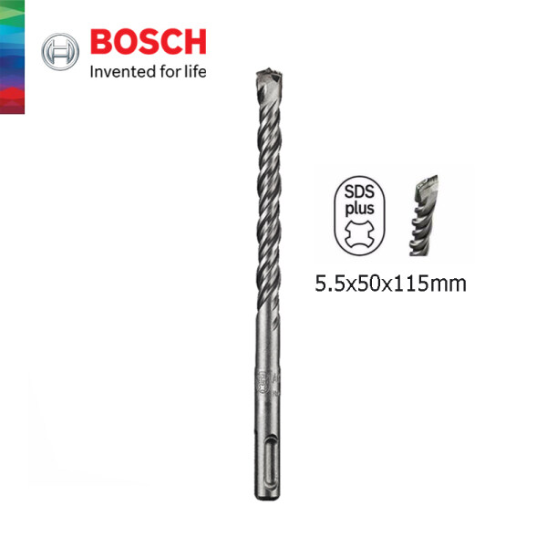 BOSCH SDS plus-5 Hammer Drill Bit - (5.5x50x115mm) - 2608579169