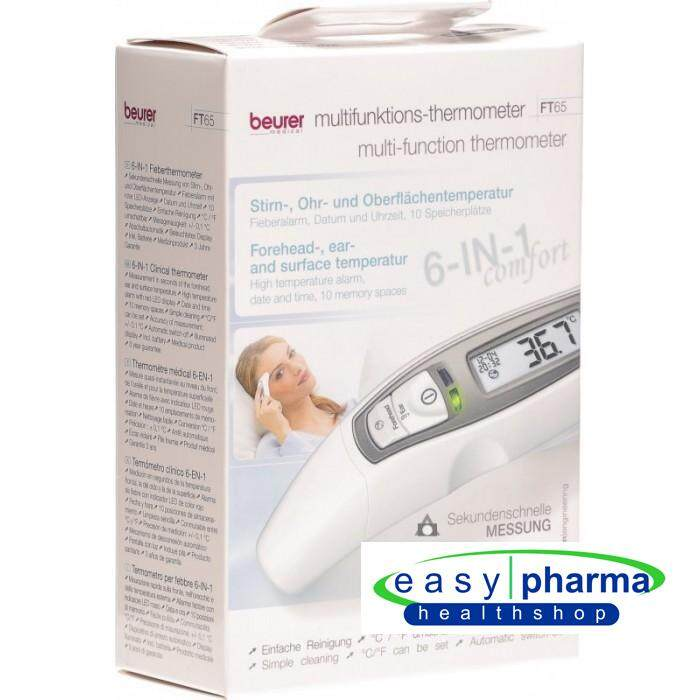 Beurer FT65 Multi Functional Thermometer 6 in 1 comfort