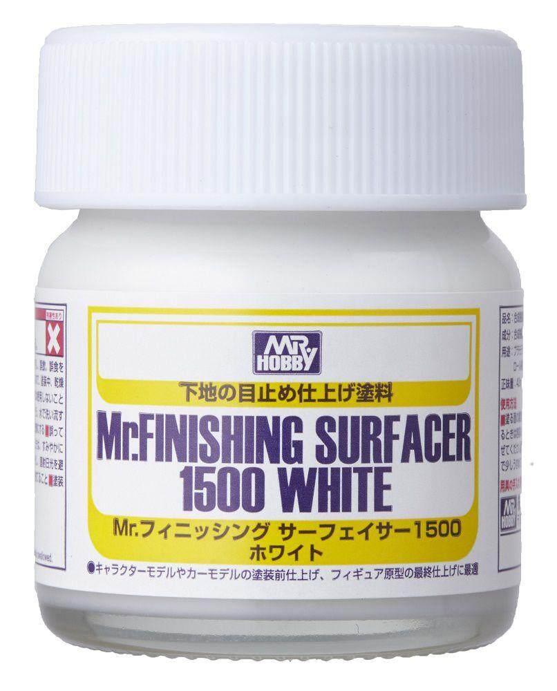 Mr Hobby - MR.FINISHING SURFACER 1500 (White) 40ml