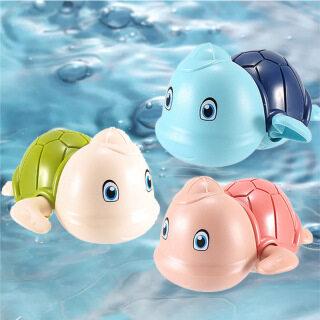 Đồ chơi nhà tắm rùa có mũ bơi vặn cót siêu cưng chất liệu an toàn cho bé thỏa sức vui chơi - INTL 6