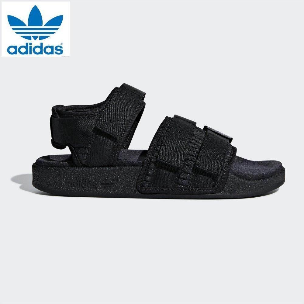 260e4f72f745 Adidas Original 2019 New Unisex Adilette Sandal CG6623 Black Sports Sandal
