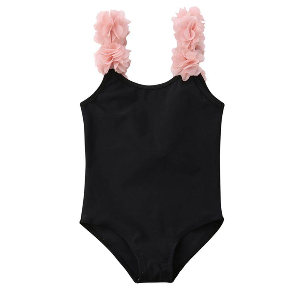 Giá bán HuaX Baby Girls Swimwear Swimsuits Flower Parent-Child Bikini Mother / Daughter Optional Children Clothing