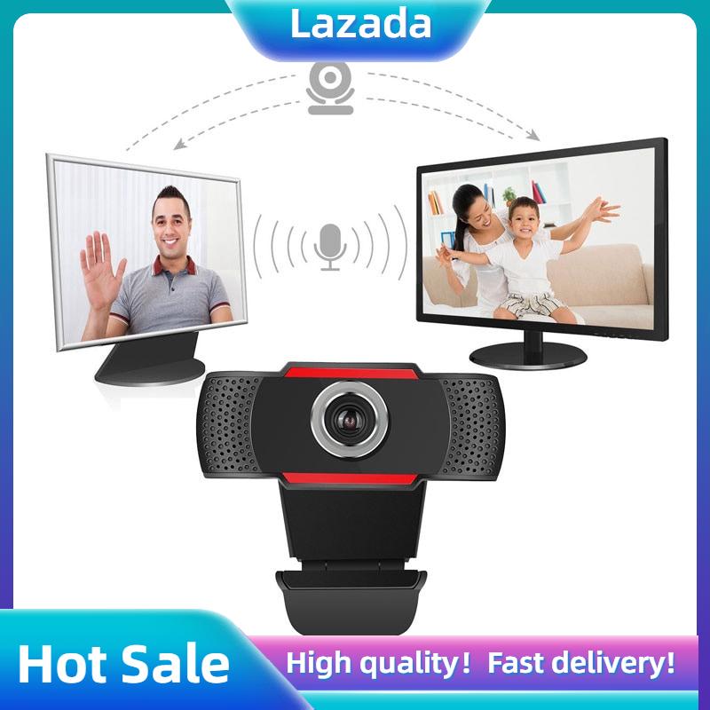 Camera PC HXSJ S20 HD 480P, Camera Có Micrô Hấp Thụ Cho Skype, Camera Xoay Cho Máy Tính Android TV Có Thể Xoay USB Web Cam