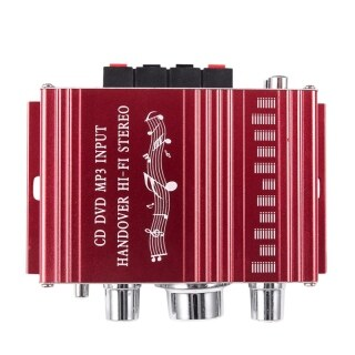 RCA 2CH Hi-Fi Stereo Amplifier Booster MP3 Speaker For Car DVD Mini Moto thumbnail