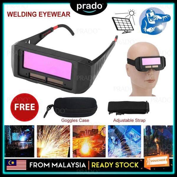 PRADO Malaysia Solar Auto Darkening Welding Goggle Safety Protective Glasses Mask Helmet Eyes Anti-glare Goggles Mask