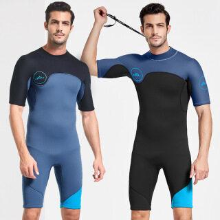 Người Đàn Ông Của Wetsuit Bộ Đồ Lặn Ngắn Tay Bằng Cao Su Neoprene Cho Nam 2Mm Cho Bơi Lặn Biển Lặn Lướt Sóng thumbnail