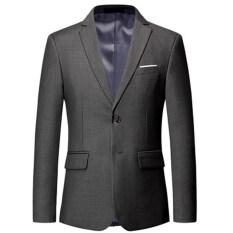 Áo vest nam chất liệu dày dặn dáng blazer trẻ trung phong cách nam tính lịch lãm với 8 màu lựa chọn